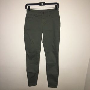 Blue Spice Olive Green Jeans